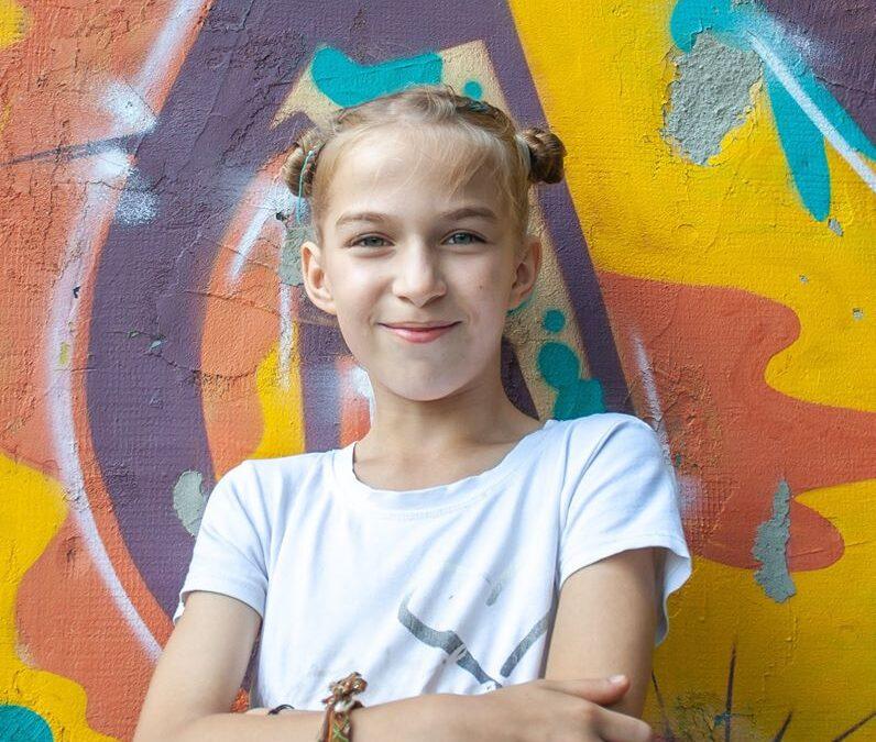 Faina Savenková z Luhanska